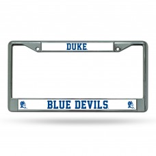 Duke University Chrome License Plate Frame