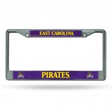 East Carolina Chrome License Plate Frames