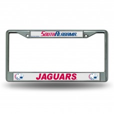 South Alabama Chrome License Plate Frame