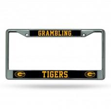 Grambling State Chrome License Plate Frames