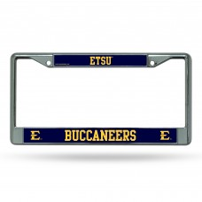 East Tennessee State Chrome License Plate Frame