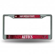 San Diego State Chrome License Plate Frame