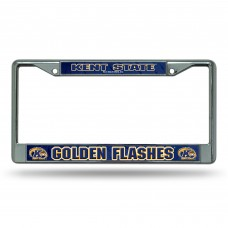Kent State Chrome License Plate Frame