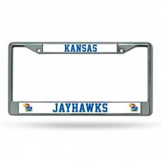 Kansas Chrome License Plate Frame