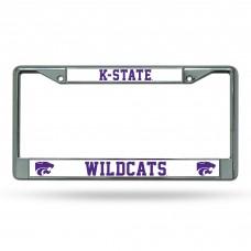 Kansas State Chrome License Plate Frame