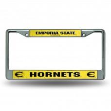 Emporia State Chrome License Plate Frames