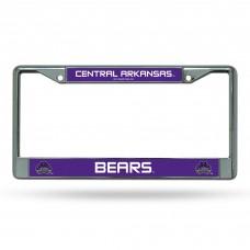 Central Arkansas Chrome License Plate Frames