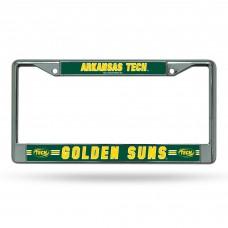 Arkansas Tech Golden Suns Chrome License Plate Frame