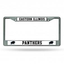 Eastern Illnois Chrome License Plate Frames