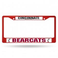 Cincinnati Colored Chrome License Plate Frame