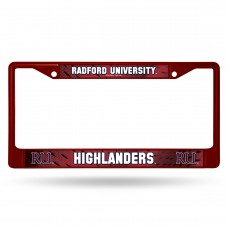 Radford Red Colored Chrome License Plate Frame