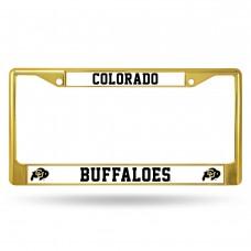 Colorado Gold Colored Chrome License Plate Frame