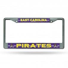 East Carolina Bling Chrome License Plate Frame