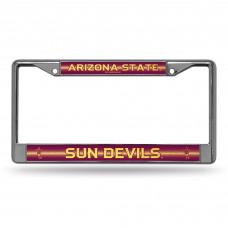 Arizona State Sun Devils Bling Chrome License Plate Frame