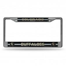 Colorado Bling Chrome License Plate Frame