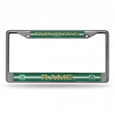 Colorado State Bling Chrome License Plate Frame