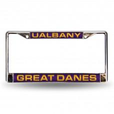 Albany Great Danes Laser Chrome License Plate Frame
