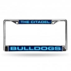 Citadel University Laser Chrome License Plate Frame