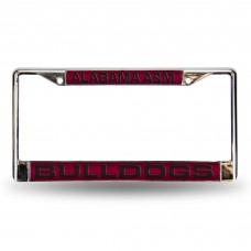 Alabama A&M Bulldogs Laser Chrome License Plate Frame