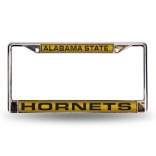Alabama State Hornets Laser Chrome License Plate Frame