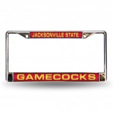 Jacksonville State Laser Chrome License Plate Frame