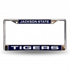 Jackson St Laser Chrome License Plate Frame