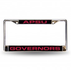 APSU Governors Laser Chrome License Plate Frame