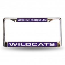 Abilene Christian Wildcats Laser Chrome License Plate Frame