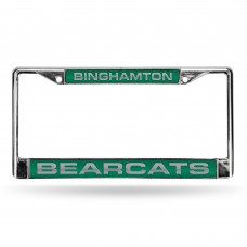 Binghamton Bearcats Laser Chrome License Plate Frame