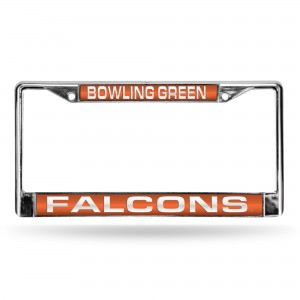 Bowling Green Falcons Laser Chrome Ohio License Plate Frame