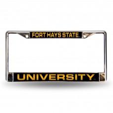 Fort Hays State Laser Chrome License Plate Frame