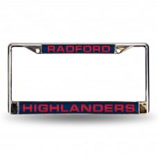 Radford Laser Chrome License Plate Frame