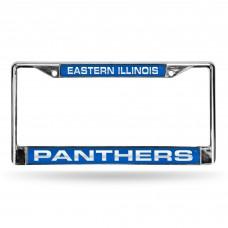Eastern Illinois Laser Chrome License Plate Frame