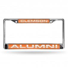Clemson Alumni Laser Chrome License Plate Frame
