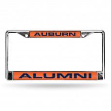 Auburn Alumni Laser Chrome License Plate Frame