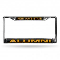 Fort Hays State Alumni Laser Chrome License Plate Frame