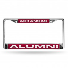 Arkansas Razorbacks Alumni Laser Chrome License Plate Frame