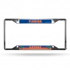 Florida EZ View Chrome License Plate Frame