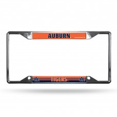 Auburn Tigers EZ View Chrome License Plate Frame