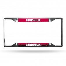 Louisville EZ View Chrome License Plate Frame