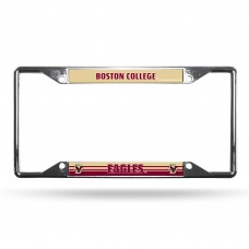 Boston College Eagles EZ View Chrome License Plate Frame