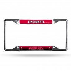Cincinnati Bearcats EZ View Chrome License Plate Frame