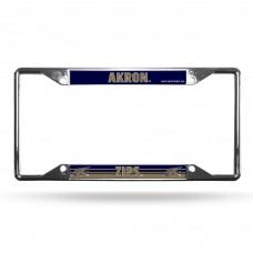 Akron Zips EZ View Chrome License Plate Frame