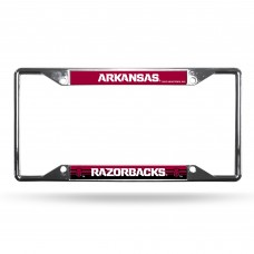 Arkansas Razorbacks EZ View Chrome License Plate Frame
