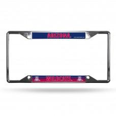 Arizona Wildcats EZ View Chrome License Plate Frame