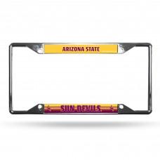 Arizona State Sun Devils EZ View Chrome License Plate Frame
