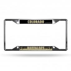 Colorado Buffaloes EZ View Chrome License Plate Frame