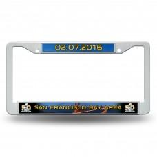 Super Bowl 50 Plastic License Plate Frame