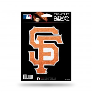 SAN FRANCISCO GIANTS BLING MEDIUM DIE CUT DECAL