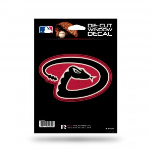 ARIZONA DIAMONDBACKS BLING MEDIUM DIE CUT DECAL